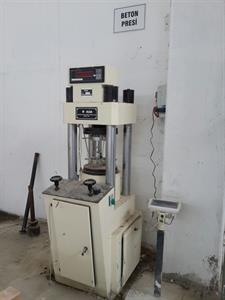 Yapı Mekaniği Laboratuvarı - 2259